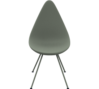 3110 - Uden polstring, Drop Plastic, Stone grey, 3110 Base, Stone grey