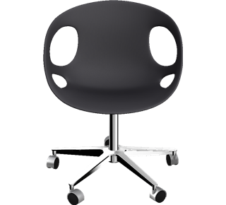 RIN - HK15, Swivel chair, castors - Fritz Hansen