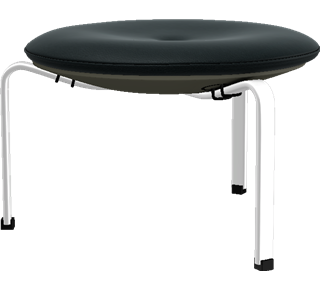 PK33 - PK33, Stool, Classic Leather, Black