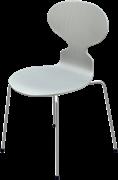 Ant™, Nine Grey, coloured ash, Chromed Steel
