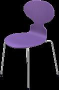 Ant™, Evren Purple, coloured ash, Chromed Steel