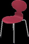 Ant™, Opium Red, coloured ash, Chromed Steel