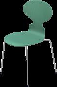 Ant™, Hüzün Green, coloured ash, Chromed Steel