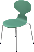 Ant™, Hüzün Green, Lacquered 2015, Chromed Steel