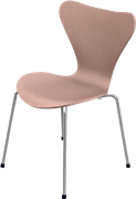 Series 7™, Chocolate Milk Brown, coloured ash, Chromed Steel, 3107 Base