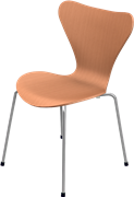 Series 7™, Chevalier Orange, coloured ash, Chromed Steel, 3107 Base