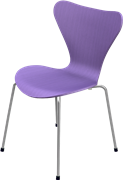 Series 7™, Evren Purple, coloured ash, Chromed Steel, 3107 Base