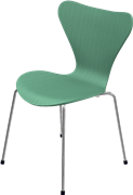 Series 7™, Hüzün Green, coloured ash, Chromed Steel, 3107 Base