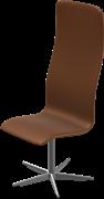 Oxford™ Toes, Walnut, Elegance Leather, Satin Polished Aluminum