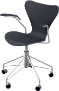 Series 7™ Swivel chair, 3217, Swivel armchair, Lacquered