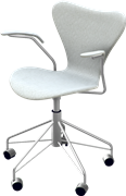 Series 7™ Swivel chair, 3217, Swivel armchair, Fully Upholstered