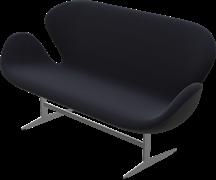 Swan Sofa™, 3321, 2-seater sofa