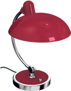 Kaiser Idell™ Luxus Table Lamp, Ruby Red