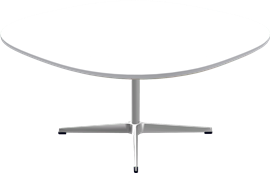 Table series Pedestal Base, A203, Coffee table, supercircular