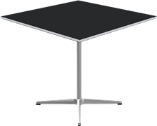 Table series Pedestal Base, A631, Square