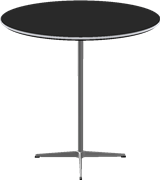 Table series Pedestal Base, A922, Bar table, circular