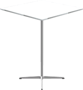 Table series Pedestal Base, A931, Bar table, square