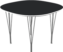 Table series Spanlegs, B603, Super-circular