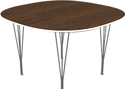 Table series Spanlegs, B604, Super-circular