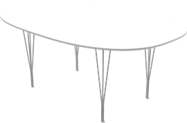 Table series Spanlegs, B613, Super-elliptical