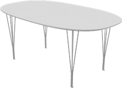 Table series Spanlegs, B616, Super-elliptical