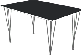 Table series Spanlegs, B636, Rectangular