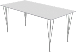 Table series Spanlegs, B638, Rectangular