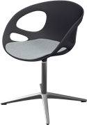 Rin™, HK10, Swivel chair, seat upholstered