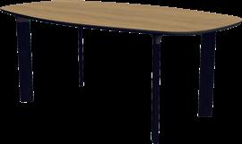 Analog™, JH63, Bord, 4 ben i massiv træ
