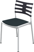 Ice™, KS200, chair, Stackable, Seat upholstery