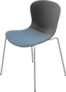 NAP™, KS50, chair, Stackable, seat upholstery