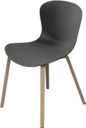 NAP™, KS52, chair, wooden base