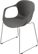 NAP™, KS61, chair, stackable